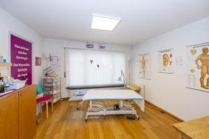 Behandlungsraum Orsana Naturheilpraxis